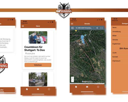 Unsere BW Running App ist da!