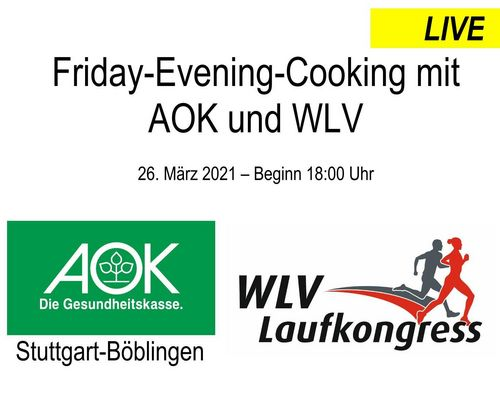 Friday-Evening-Cooking: Übertragung per Livestream
